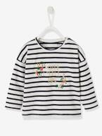 Sailor-type Top for Baby Girls  - vertbaudet enfant