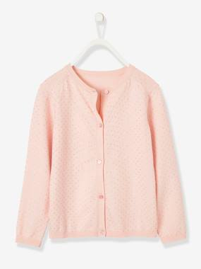 Vertbaudet Basics-Girls-Cardigan for Girls