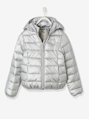 Girls-Coats & Jackets-Lightweight Jacket with Hood, for Girls
