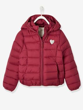 Vertbaudet Collection-Lightweight Jacket with Hood, for Girls