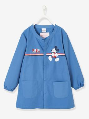 Vertbaudet Collection-Boys-Apron -Mickey® School Smock, Customisable