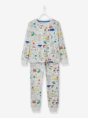 Vertbaudet Collection-Boys-Cotton Pyjamas for Boys