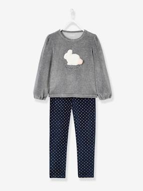Girls-Nightwear-Velour Pyjamas for Girls