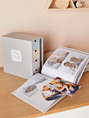 Bedding & Decor-Decoration-Decorative Accessories-Keepsakes Box with Drawers + Photo Album