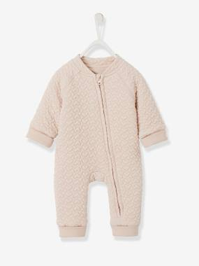 Baby-Dungarees & All-in-ones-Fleece Jumpsuit for Newborn Babies
