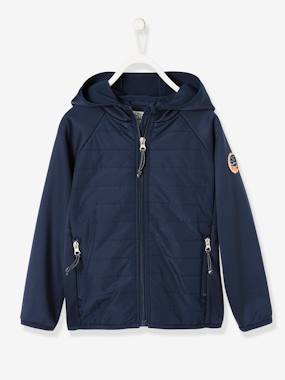 Boys-Sportswear-Sports Jacket With Hood, for Boys