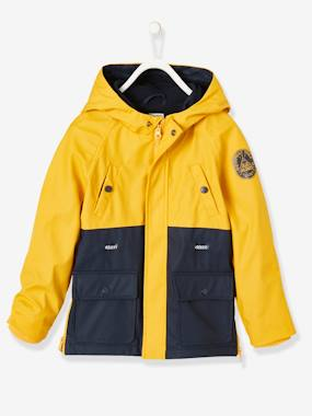 Vertbaudet Collection-Boys-Windcheater with Hood, for Boys