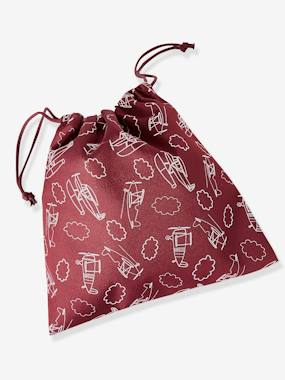 Boys-Accessories-School Supplies-Snack Bag with Airplanes, for Boys