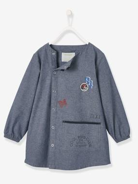 Boys-Apron -Light Denim Smock for Boys