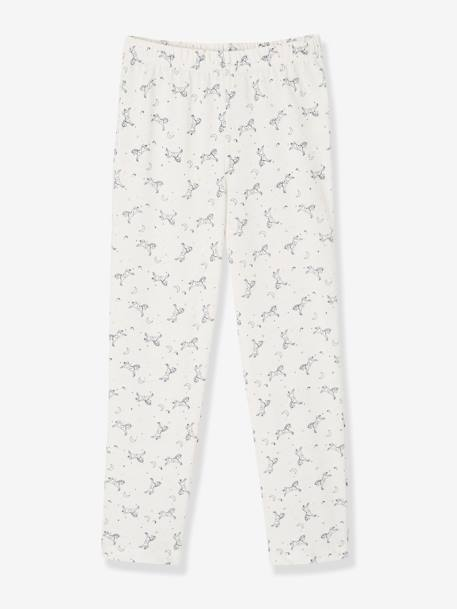 Lot de 2 pyjamas en coton et velours LOT ENCRE - vertbaudet enfant