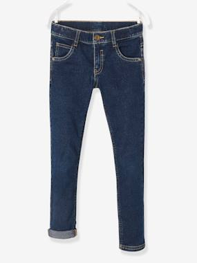 Vertbaudet - Trousers girls boys and babys-Boys' Slim Fit Stretch Jeans