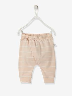 Vertbaudet Basics-Baby-Soft Jersey Knit Trousers for Newborn Babies