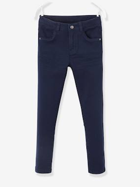 Vertbaudet Collection-Girls-Trousers-NARROW Hip Slim Trousers for Girls