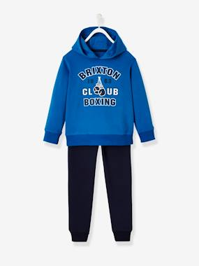 Boys-Sportswear-Sports Combo: Hooded Sweatshirt & Joggers for Boys