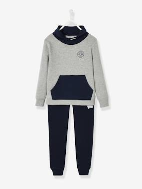 Boys-Sportswear-Sports Combo: Sweatshirt & Joggers, for Boys