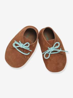 Schoolwear-Shoes-Soft Leather Pram Shoes for Baby Boys