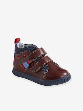 Shoes-Baby Footwear-Baby Boy Walking-Leather Boots, for Baby Boys