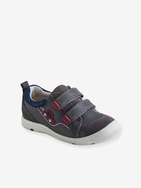 Shoes-Boys Footwear-Leather Trainers for Boys, Designed for Autonomy