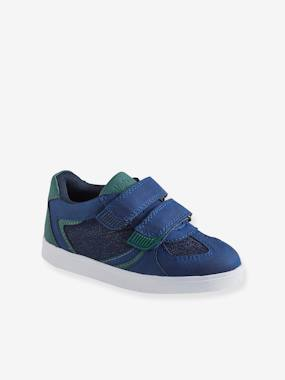 Schoolwear-Shoes-Trainers with Touch-Fastening Tabs for Boys, Designed for Autonomy
