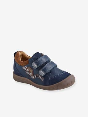 Schoolwear-Shoes-Leather Trainers for Boys, Designed for Autonomy