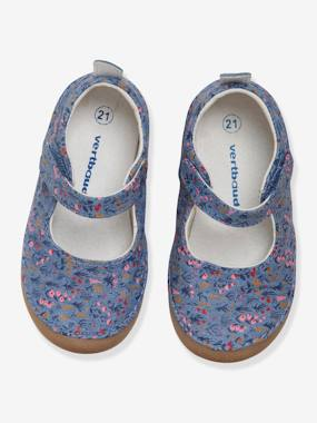 Shoes-Baby Footwear-Mary Jane Shoes for Baby Shoes in Printed Canvas