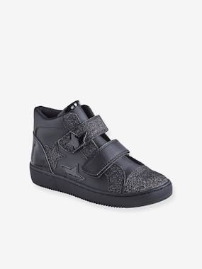 Shoes-High Top Trainers with Touch Fasteners, for Girls