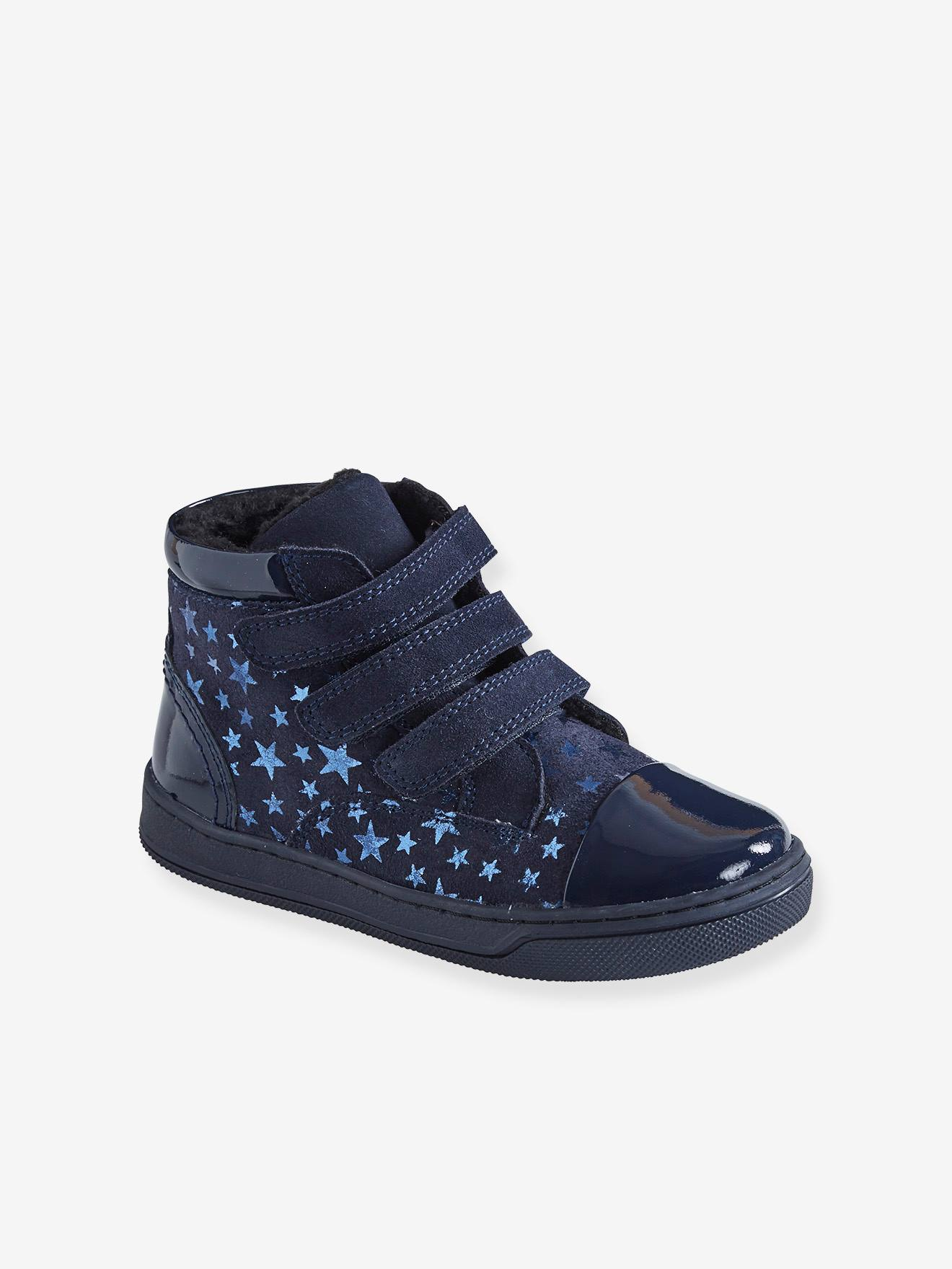 High Top Leather Trainers for Girls