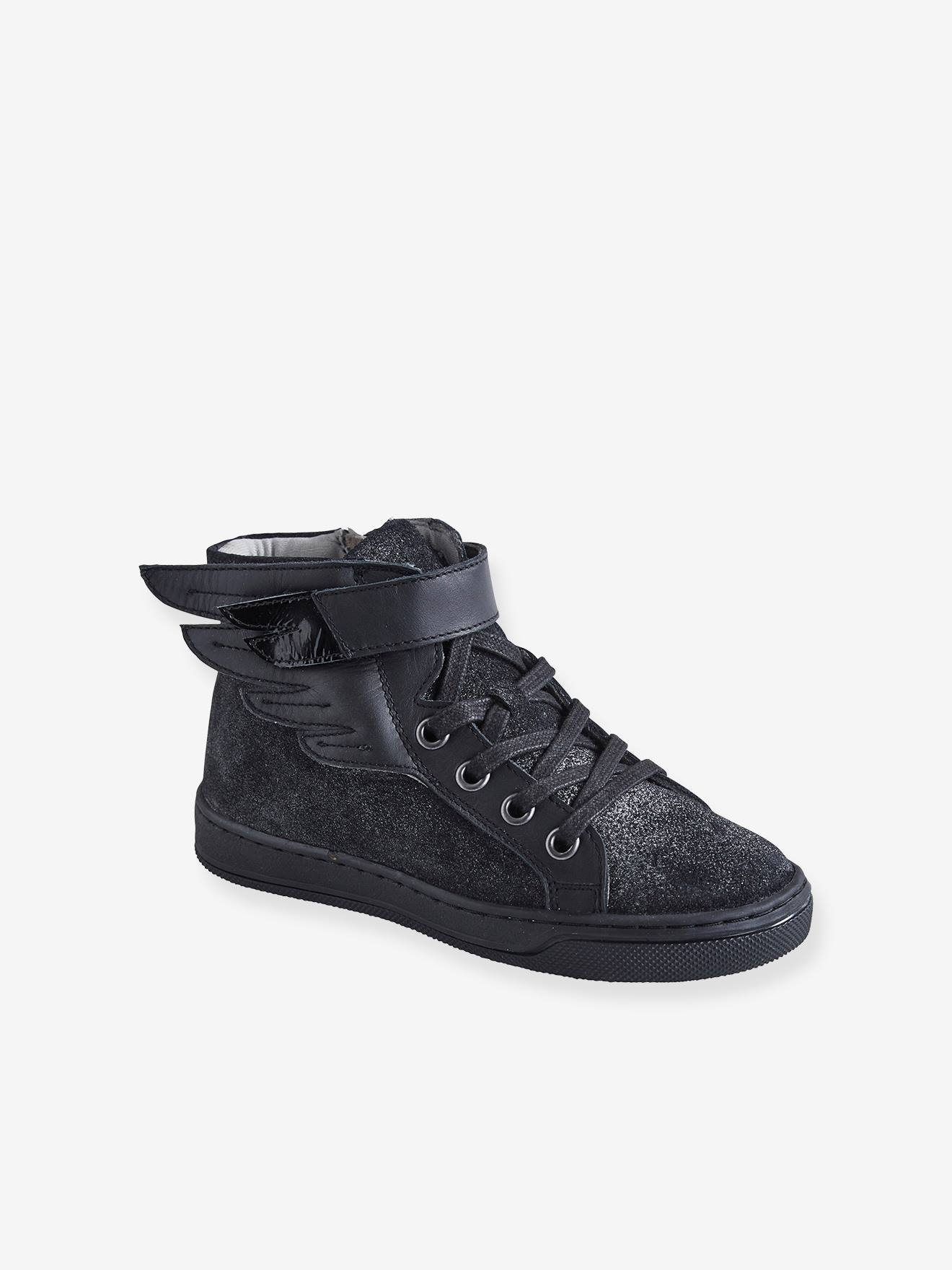 high top girls trainers
