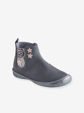 Shoes-Girls Footwear-Ankle Boots-Leather Boots for Girls, Autonomy Collection