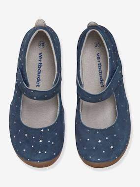 Shoes-Girls Footwear-Touch-Fastening Leather Shoes for Girls