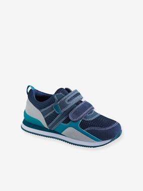 Vertbaudet Collection-Shoes-Trainers with Touch-Fastening Tabs, for Boys