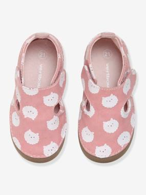 Shoes-Shoes in Printed Fabric for Babies