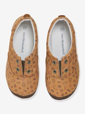 Shoes-Boys Footwear-Slip-ons for Boys in Printed Leather