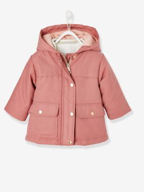 Coat & Jacket-3-in-1 Parka with Detachable Jacket, for Baby Girls