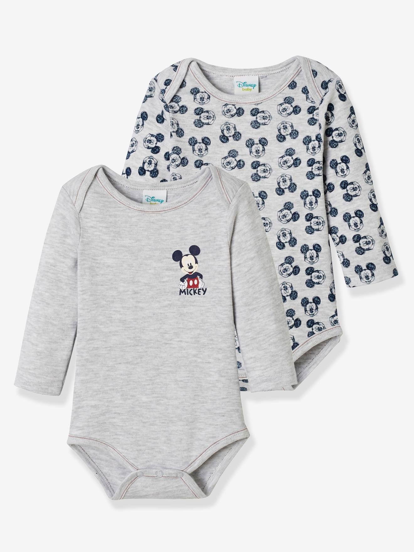 Disney Baby Boys/' Mickey Mouse 3 Pack Bodysuits Size 12M 18M 24M
