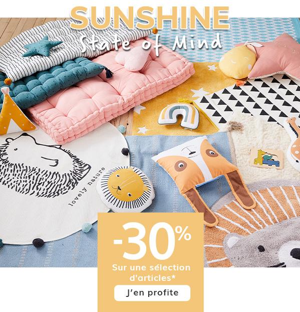 Sunshine Linge de Lit & Déco